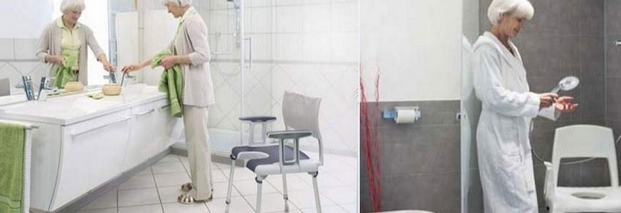 Chaises bain et douche